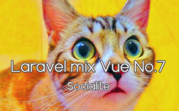 Laravel mix vue No.7 - Socialite - ソーシャルログイン